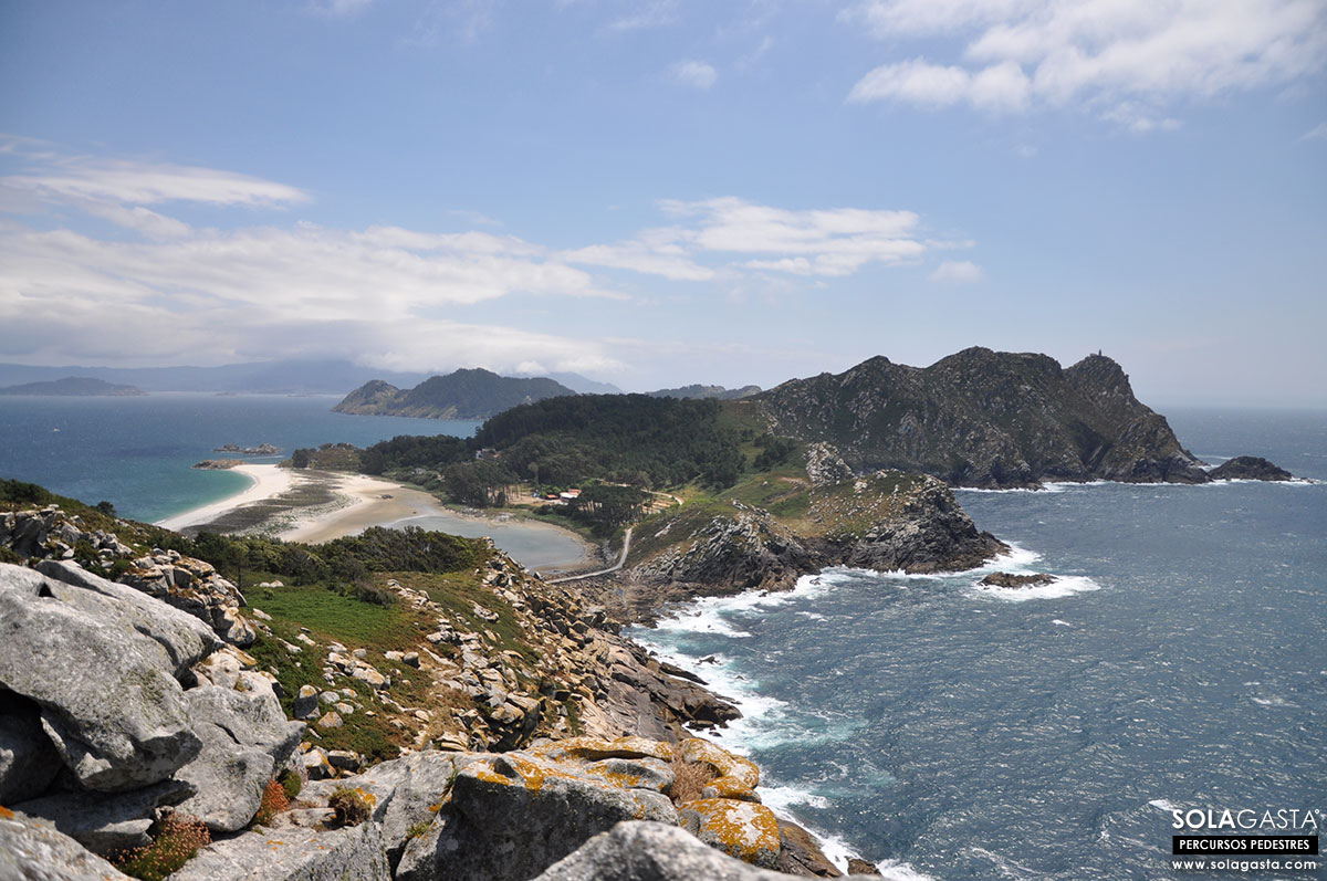 Roteiro do Alto do Príncipe e Roteiro de Monteagudo – Islas Cíes – Vigo (Espanha)