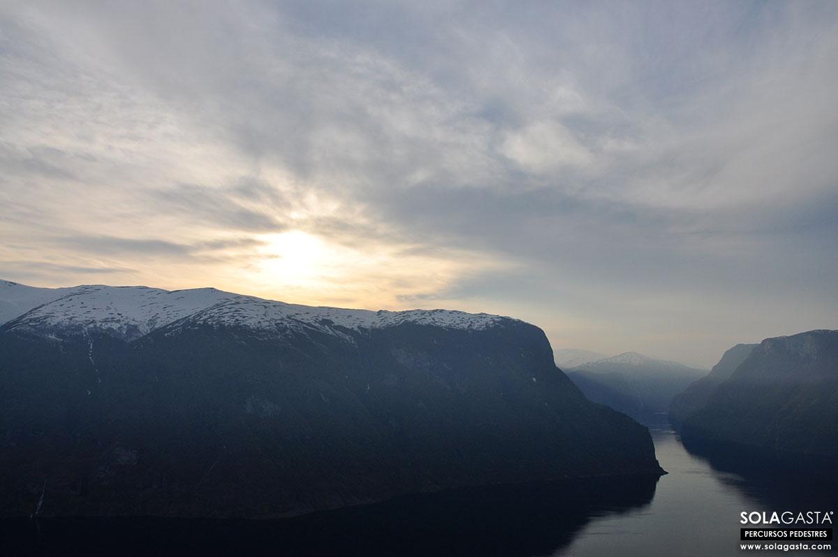Aurland e o Miradouro (Noruega)