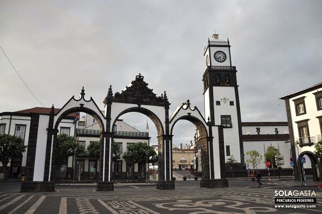 Caminhada em Ponta Delgada (Ponta Delgada - Açores)