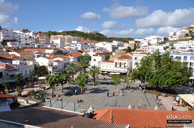 Caminhada urbana em Albufeira (Albufeira)