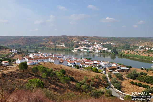 Extensão PR3 - Alcoutim (Portugal) a Sanlúcar de Guadiana (Espanha)
