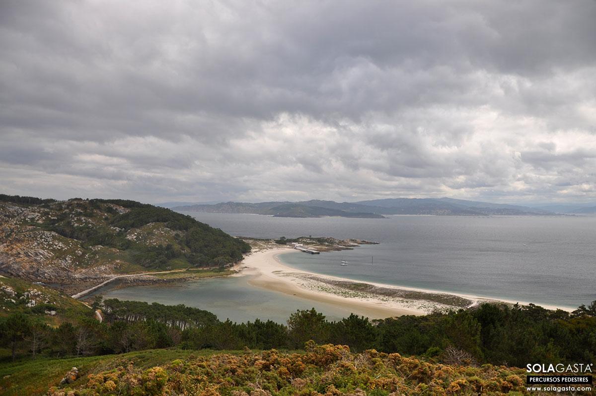 Roteiro do Monte Faro e Roteiro do Faro da Porta – Islas Cíes – Vigo (Espanha)