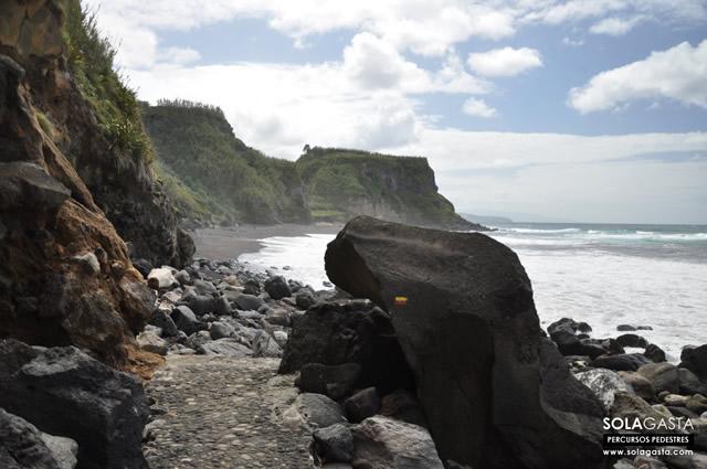 PR27SMI - Praia da Viola (Ribeira Grande - São Miguel - Açores)