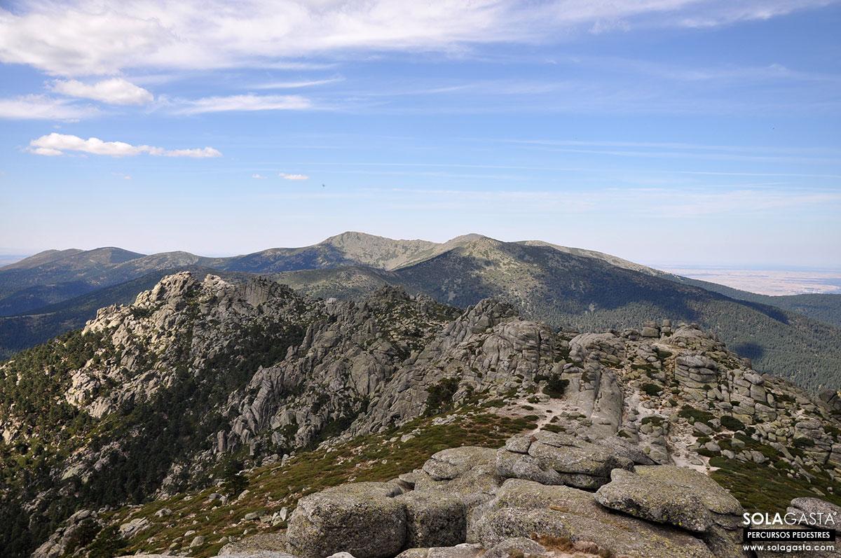 Pico de Majalasna e Siete Picos (Valle de la Fuenfría – Sierra de Guadarrama)