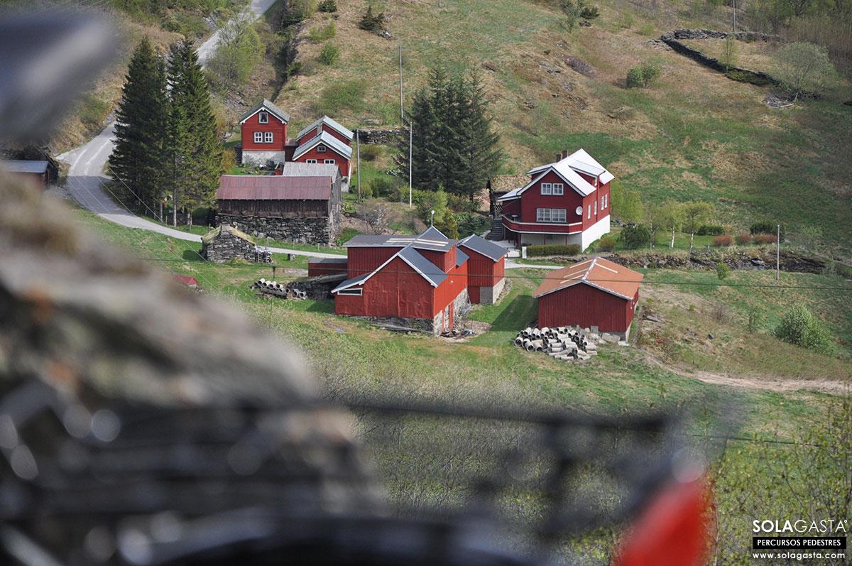 De Blomheller a Flåm em bicicleta (Noruega)