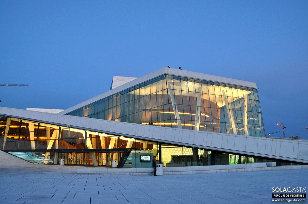 A caminhar por Oslo (Noruega)