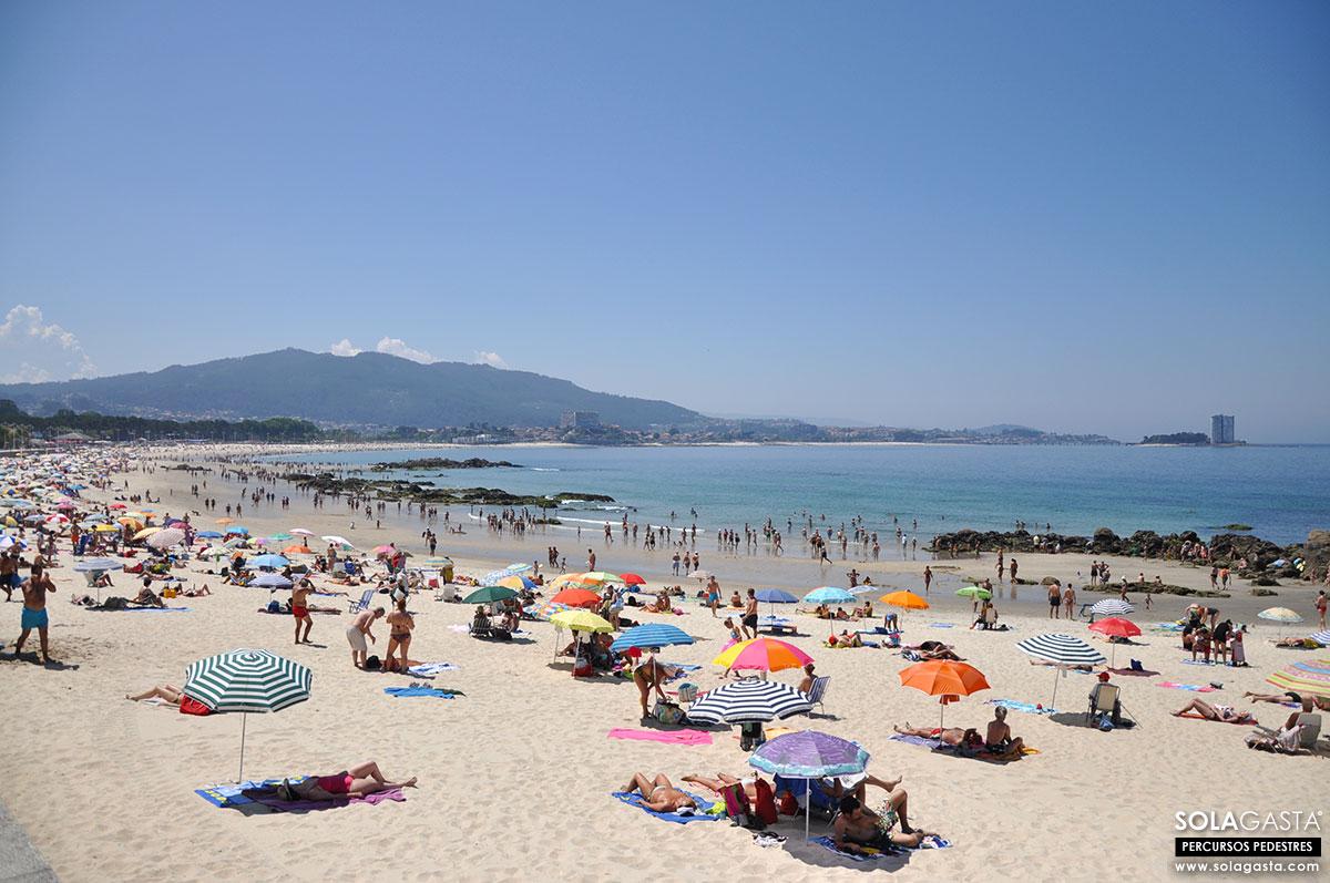 Do Parque do Castro à Playa de Samil – Vigo (Espanha)