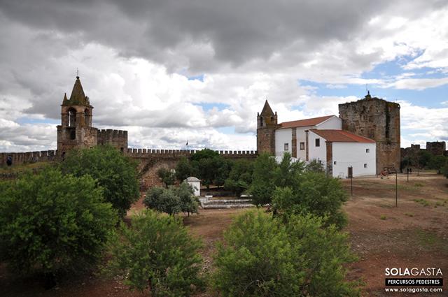 Subida ao Castelo de Mourão (Mourão)
