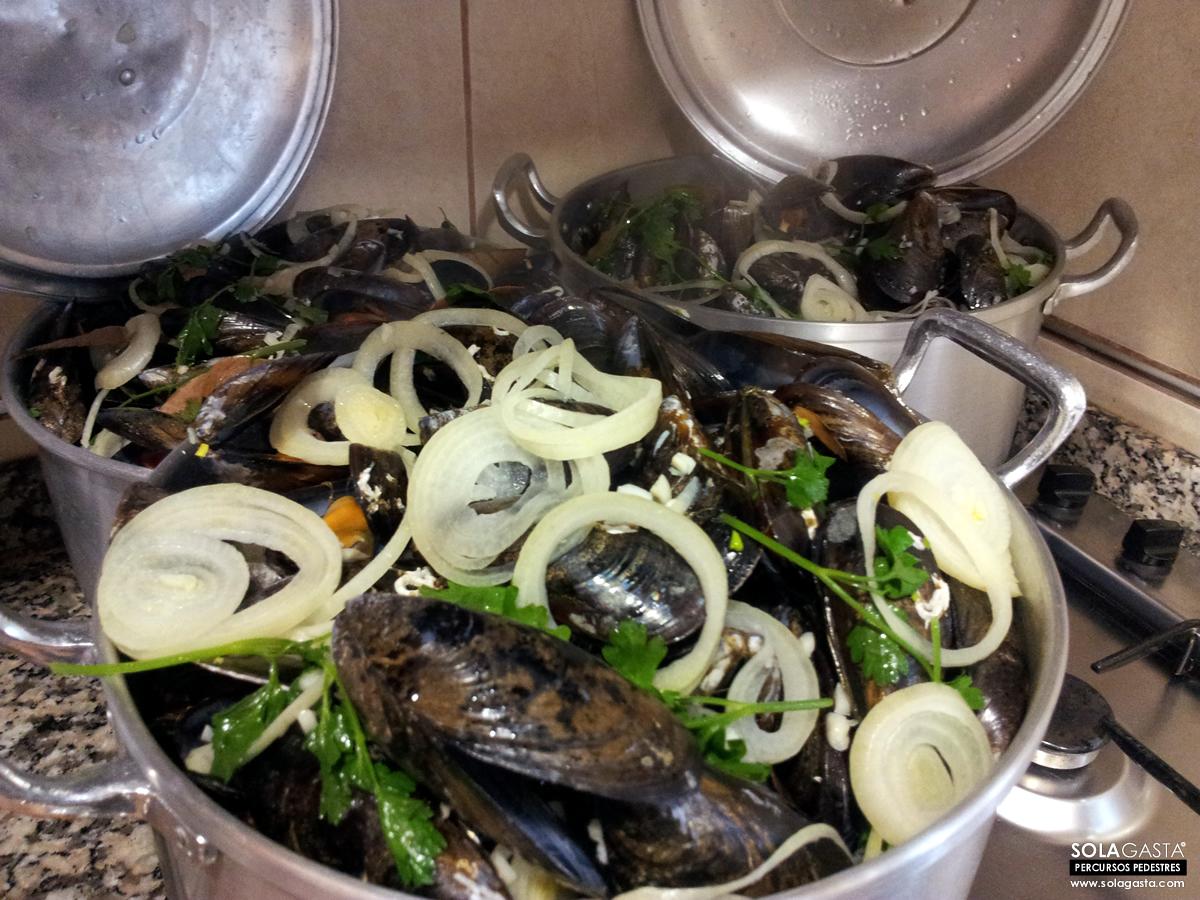 Mussels of Good Friday (Figueira da Foz)