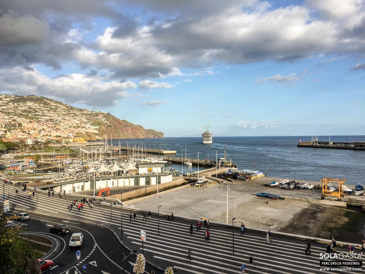 Percurso Pedestre no Funchal - Da Marina ao Monte (Funchal)
