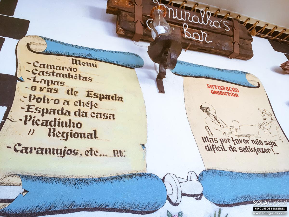 Muralhas Bar, Caniçal (Machico - Madeira)
